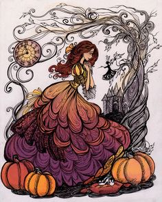 the Pumpkin Princess by La-Chapeliere-Folle on DeviantArt