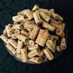 200 All Natural Single Winery Used Wine by sabinesuglyducklings