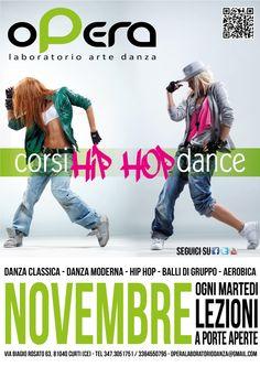 Opera Laboratorio Arte Danza, Advertise  November