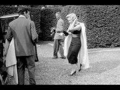 EXCLUSIVE  Marilyn Monroe & Arthur Miller at Parkside House in Englefield Green, Surrey, England 1956