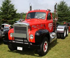 1953 Mack Tractor, want this to pull my 5th wheel trailer...............