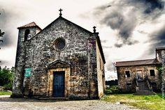 Iglesia_de_Longos Vales_Monçao #Portugal @pinterest
