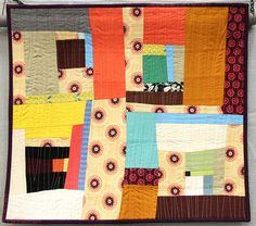 Title: Road Trip Made and Quilted by Mary Anne Williams Austin, Texas, USA Austin Modern Quilt Guild