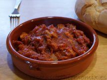 Magra con tomate en Thermomix