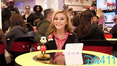 """Video: G Hannelius At The """"Disney Magical World"""" Release Party April 2014"""