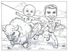 custom caricature!