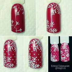 Маникюр | Ногти Beverages, Drinks, Coca Cola, Soda, Canning, Projects, Winter Nails, Beverage, Drink