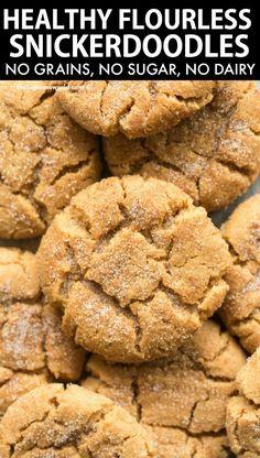 Gluten Free Sweets, Sugar Free Desserts, Low Carb Desserts, Dairy Free Recipes, Low Carb Recipes, Gluten Free Cookies, Keto Cookies, Healthy Cookie Recipes, Healthy Cookies