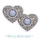 ♥ Judith Ripka Sterling Silver  Blue Lace Agate Clip Earrings ~NWOT~ ♥ - amp, Agate, blue, Clip, Earrings., Judith, Lace, NWOT, Ripka, silver, Sterling - http://designerjewelrygalleria.com/designer-jewelry-galleria/%e2%99%a5-judith-ripka-sterling-silver-blue-lace-agate-clip-earrings-nwot-%e2%99%a5/