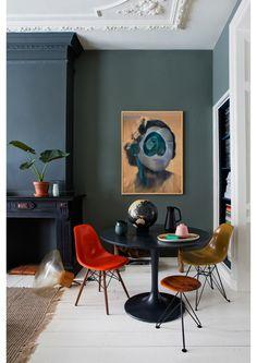 Living Room Inspiration, Interior Inspiration, Funky Home Decor, Home And Deco, House Colors, Colorful Interiors, Home And Living, Interior Architecture, Home Furniture