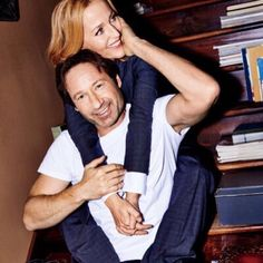 These two I just love them! gillian anderson and david duchovny