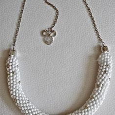 Beaded White Rope