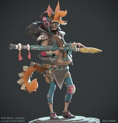 ArtStation - Lily Slash , Jaco Herbst