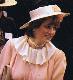 So sweet! Royal Ascot June 1981   Lady Diana Frances Spencer