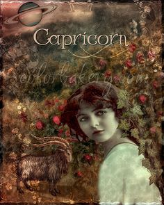 Art Nouveau Zodiac Capricorn Art Print by Mindy Sommers. All prints are professionally printed, packaged, and shipped within 3 - 4 business days. Choose from multiple sizes and hundreds of frame and mat options. Zodiac Capricorn, Capricorn Rising, Capricorn Women, Zodiac Art, Zodiac Signs, Capricorn Traits, Art Nouveau, Thing 1, Sun Sign