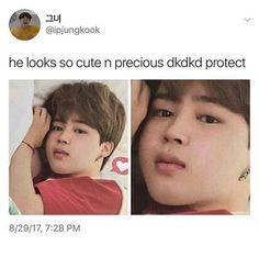 Kill me now, pls. Before his cuteness kills me.