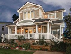 Wrap around porch...yes please!