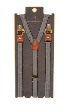 Scotch & Soda Fancy Suspender
