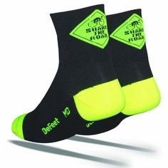 Discount Defeet Aireator Share The Road Socks. SAVE on Defeet Aireator Share The Road Socks Mtb Shoes, Running Socks, Mountain Bike Shoes, Cycling Outfit, Cycling Clothing, Outdoor Clothing, Wool Socks, Women's Socks, Cool Bike Accessories