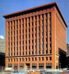 Wainwright Building. 1901. St. Louis, Missouri. Louis Sullivan.