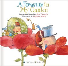 A Treasure in My Garden Storybook with Music CD by Gilles Vigneault - Age 4 and up - Hardcover - This storybook and CD combination offers beautifully illustrated pictures and 13 totally unique songs. Parents Choice, Book Of Life, Animation Film, Book Gifts, Nursery Rhymes, Music Songs, Song Lyrics, Childrens Books, Illustration