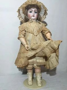 """15/"""" vintage Fashion Doll or Rini Better than Vintage hose stockings for 14/"""""""