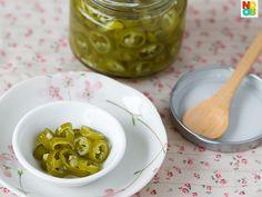 Pickled Green Chilli Recipe