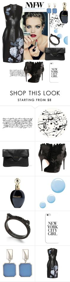 """""""What to Pack: NYFW"""" by tinkabella222 ❤ liked on Polyvore featuring Tim Holtz, Lisa Perry, Guerlain, Alexander McQueen, Roberto Cavalli, Topshop, Kate Spade, Casetify and Kenneth Cole"""