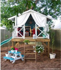 the perfect treehouse to be built by my husband