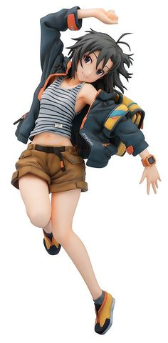 Amazon.co.jp   アイドルマスター 菊地真 1/8スケール ABS&ATBC-PVC製 塗装済み完成品フィギュア   ホビー 通販