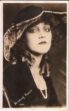 Mildred Davis (1901-1969) American actress who appeared in many of Harold Lloyd's classic silent comedies and eventually became his wife.