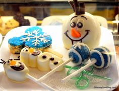 Selection Of Frozen Themed Treats