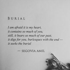 Wounds and Witches: The Sublime Poetry of Segovia Amil | Haute Macabre