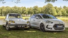 """""""The evolution and reinvention of DS: we wish the as much success as its eternally elegant ancestor. Citroen Ds5, Triumph, Travel Style, Evolution, Cool Stuff, Vehicles, Wheels, Success, Cars"""