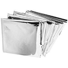 """Emergency Mylar Blankets - 84"""" X 52""""(4 Pack)"""