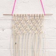 """36 gilla-markeringar, 5 kommentarer - Brooklyn Craft Company (@brooklyncraftcompany) på Instagram: """"Meet us for #Macrame at the Bust #Craftacular, this Saturday! (2nd session added by popular demand-…"""""""