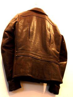 skull leather jacket by kureha backstyle