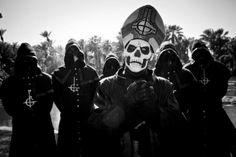 La banda Ghost se prepara para lanzar un álbum este año.