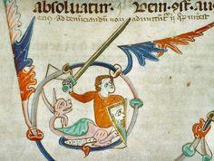 Vendôme BM MS 80 Here Be Dragons, Ms, Dragons