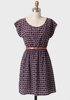Camille Park Belted Dress   Modern Vintage New Arrivals