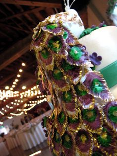 Peacock Wedding Cake | Artisan Cake Company