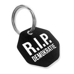 Schlüsselanhänger – R.I.P. Demokratie