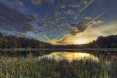 Sunset at Pocahontas State Park