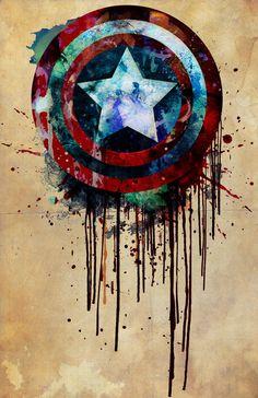 Captain America's Shield. $10.00, via Etsy.