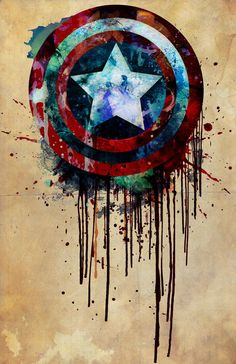 Captain America's Shield. $10.00, via Etsy.