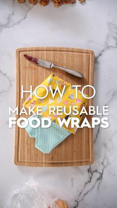 Diy Sewing Projects, Sewing Projects For Beginners, Sewing Crafts, Reusable Food Wrap, Reusable Bags, Handmade Home, Handmade Bags, Snack Bags, Christmas Sewing