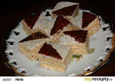 Štafetky - rychlé a jednoduché recept - TopRecepty.cz Tiramisu, Minis, Pie, Cookies, Ethnic Recipes, Ideas, Cooking, Essen, Drinking
