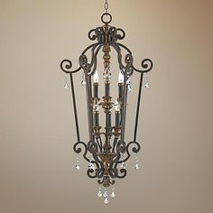 """Marquette Collection 27"""" Wide Entry Chandelier"""