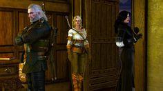 Geralt Yennefer Ciri by Vollhov.deviantart.com on @DeviantArt