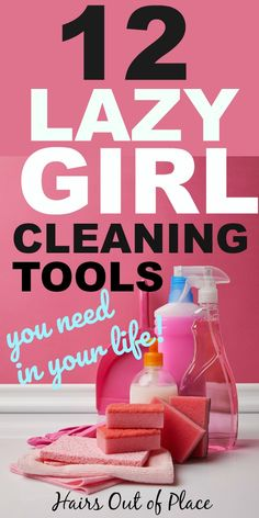 12 of the best lazy girl cleaning hacks and cleaning tools to get your home clean as easily as possible. These are perfect for bathroom cleaning tips, bedrooms, deep cleaning and just general cleaning tips and tricks. hacks tips and tricks lazy girl Bathroom Cleaning Hacks, Cleaning Day, Deep Cleaning Tips, Household Cleaning Tips, Cleaning Checklist, House Cleaning Tips, Diy Cleaning Products, Spring Cleaning, Kitchen Cleaning